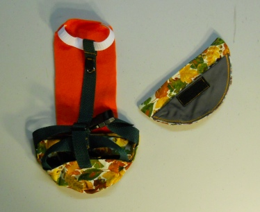 Fall Print Duck Diaper Holder walking Harness 2