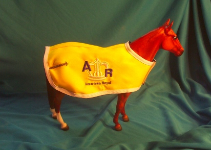 Prancer In American Royal Coat