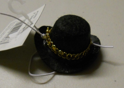 Top Hat to go with the Yellow Buttoned Leprechan Custome