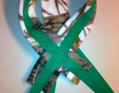 Green Recreational Sled Dog Harness